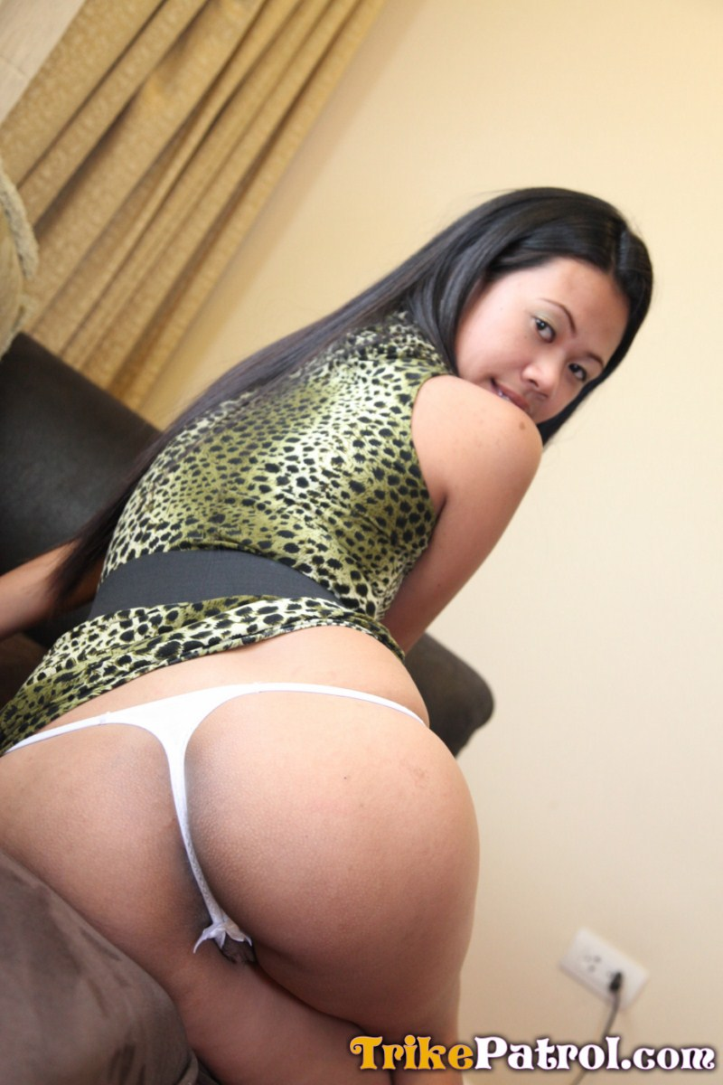 Japanese looking filipina babe fucked hard in the ass 2