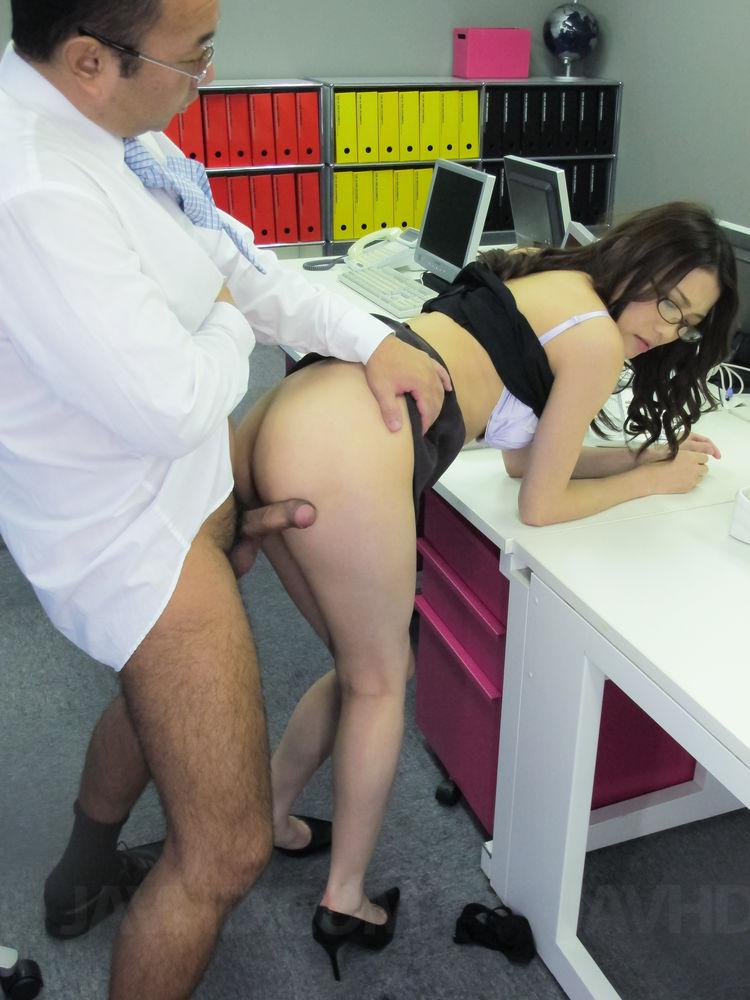 Japanese naked office