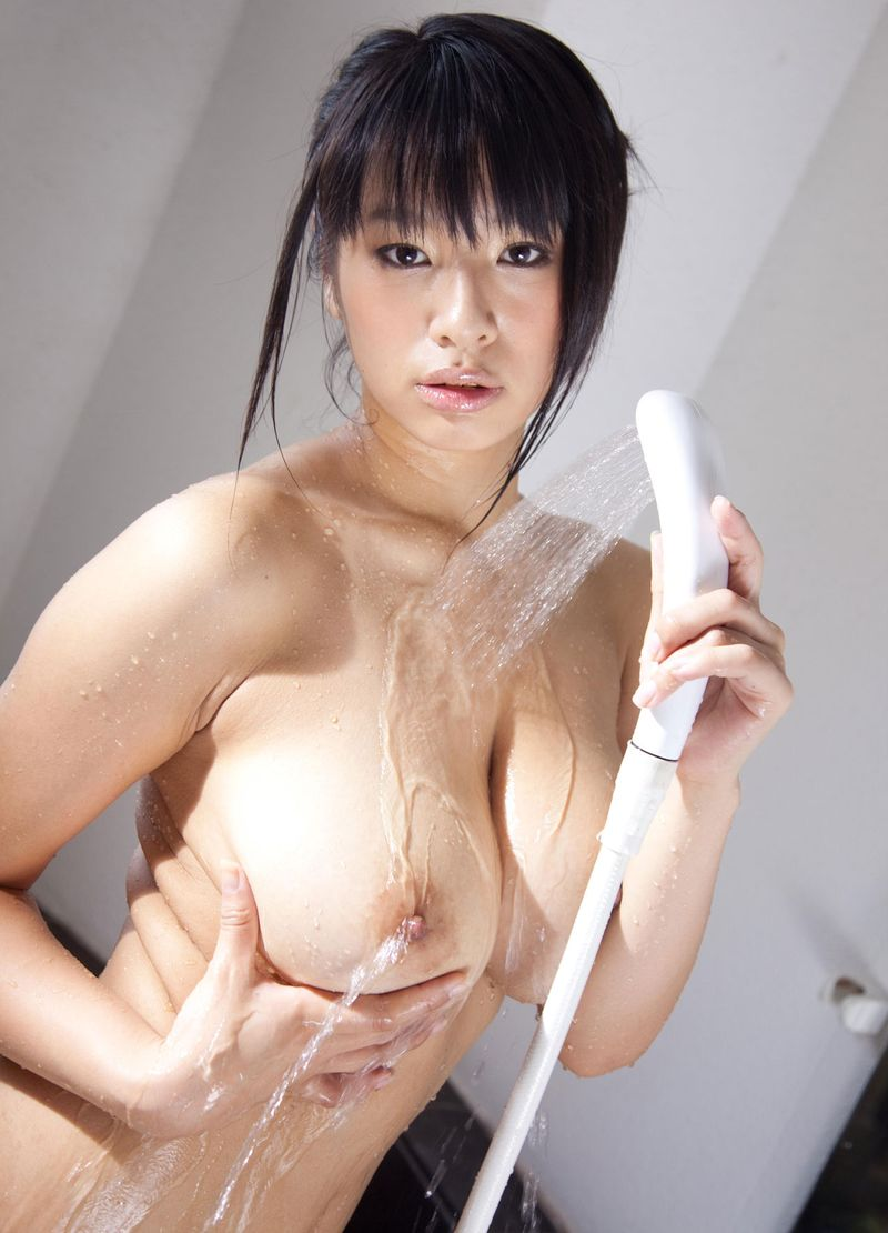 Bathroom Nude Body Posing Action by the Beauty Japanese Babe ...