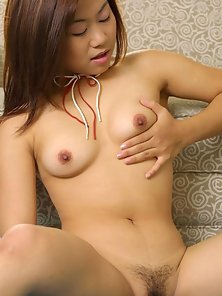 Alluring Asian Chick Is Striping and Teasing Her Sensual Parts
