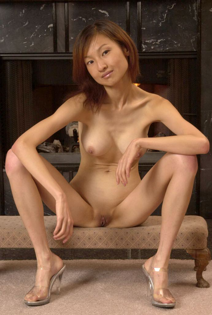Skinny Asian Girl Loli Strips Down To Her Naked Tiny Body