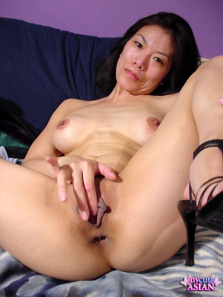 Asian Girl Anal Masturbation