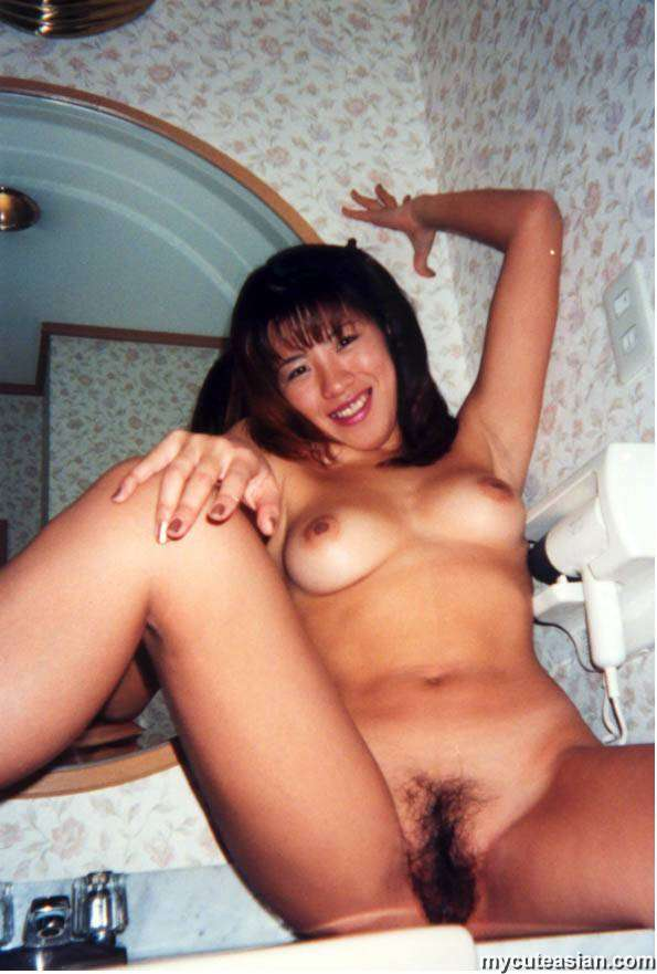 Cute Brunette Chick Dildo Fucking Action Her Tight Twat -5926