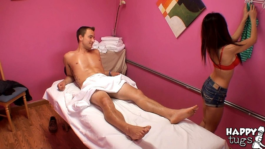 Adult Asian Massage Porn - Pretty Asian chick Massage Her Male Partner Fucked Hardly And Gets Blowjob  in Parlor