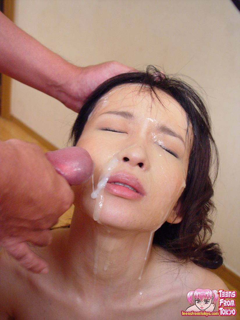 Sexy Hunky Guys Enjoying Bukkake With Her Teen Cute -5831