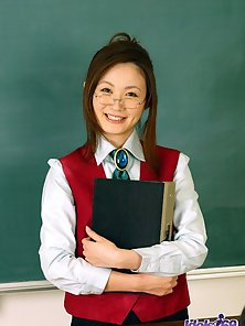 Sweet Sexy Asian School Girl Strips Her Uniform and Shows Her Sexy Poses