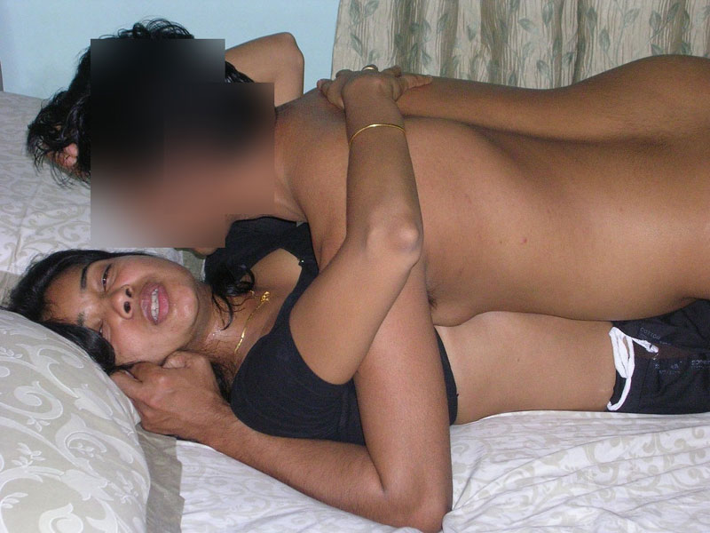 Naughty Indian Babe Radha Fucking With Her Bf on Bed after Giving Blowjob