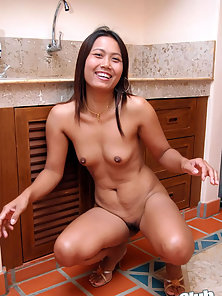 Naughty Stylish Babe Kata Display Her Nude Sexy Body in Various Poses