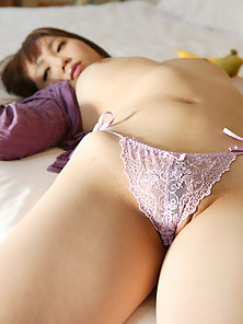 Sexy Japanese Porn Mai Nadasaka Is Excitedly Showing Boobs and Hairy Cunt