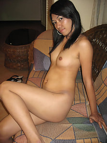 Pinay amateur gagging on two white cocks