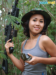 Jungle Adventure of Sexy Teen Asian Chick