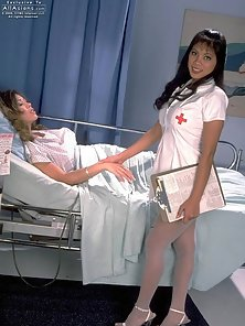 Busty Asian Doctor Takes Pussy Licking Pleasure by Her Sexiest Patient