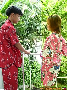 Naughty Young Guy Crazily Pounding Ace Bangs Bheng Tight Twat In Outdoor