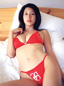 Skinny Asian Babe Displaying Her Sexy Body in Different Poses