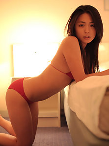 Huge Ass Good Looking Babe Presenting Her Attractive Body in Many Poses