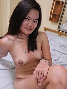 Horny Filipina Chick Shows Her Hairy Pussy and Ass in Naughty Poses