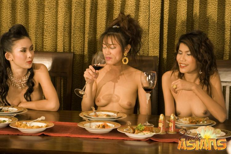 dinner party porn