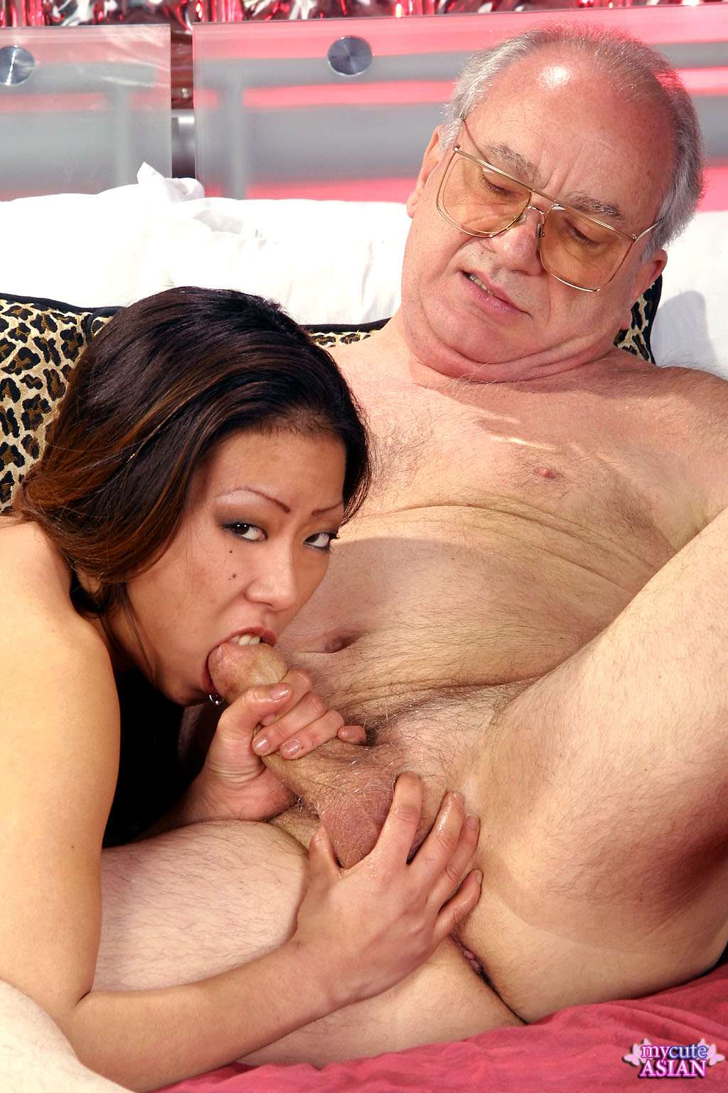 Monster asian suck oldma this the
