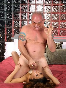 Horny Asian Babysitter Get Face Fucked By the Hunky Old Man