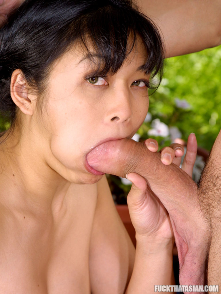 Was and asian blowjob and brunette facial cock that