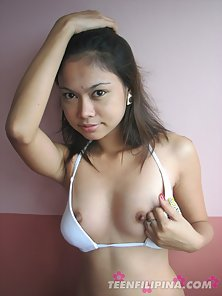 Cute Filipina Babe Madly Removes Her Dress for Exposing Bare Body