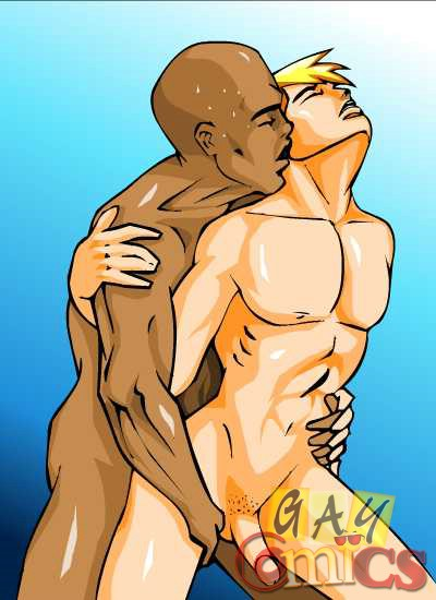 Gay interracial cartoons