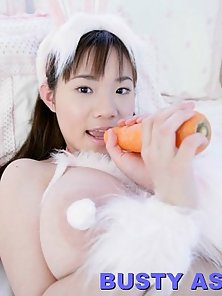 Large Bobbed Sexy Chick Yuna Kawase Express Her Sex Action on Cam
