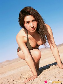 Lovely Asian Babe Junko Yaginuma in Naughty Poses in Different Style