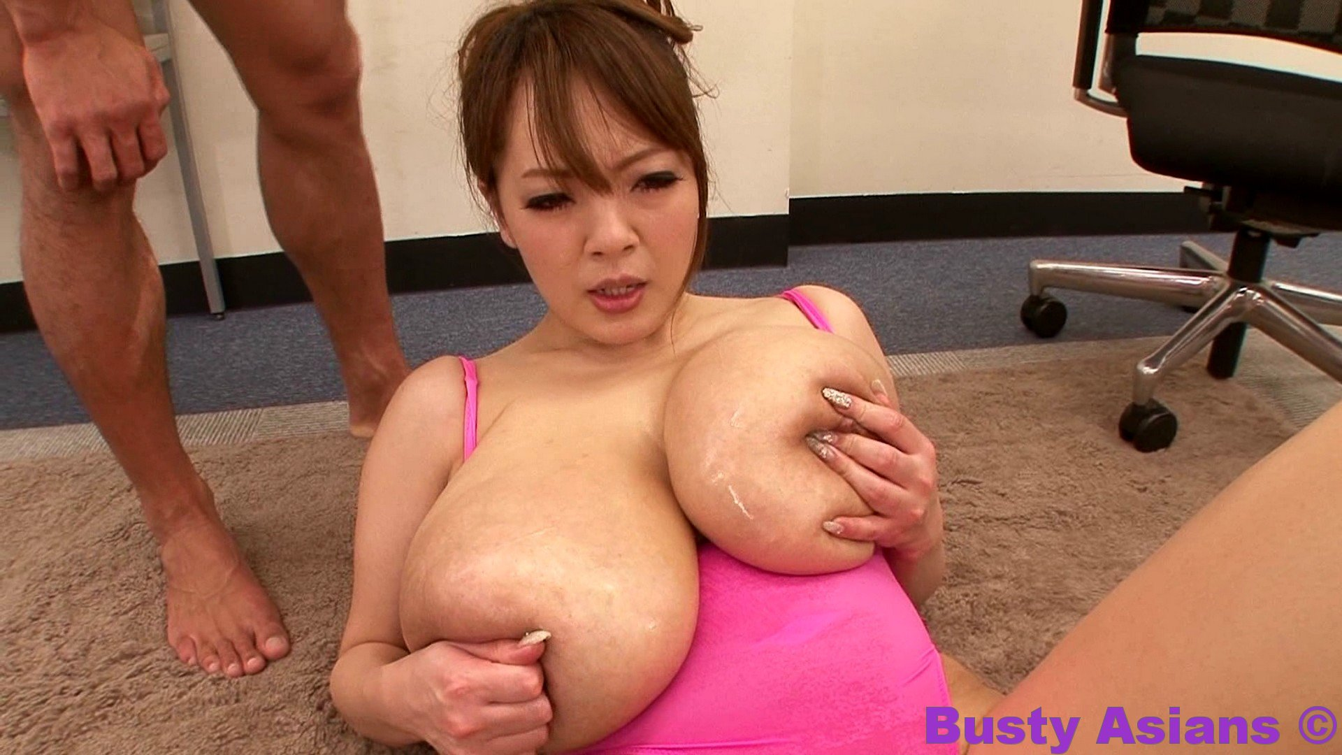 Asian Big Tits Sucking Dick