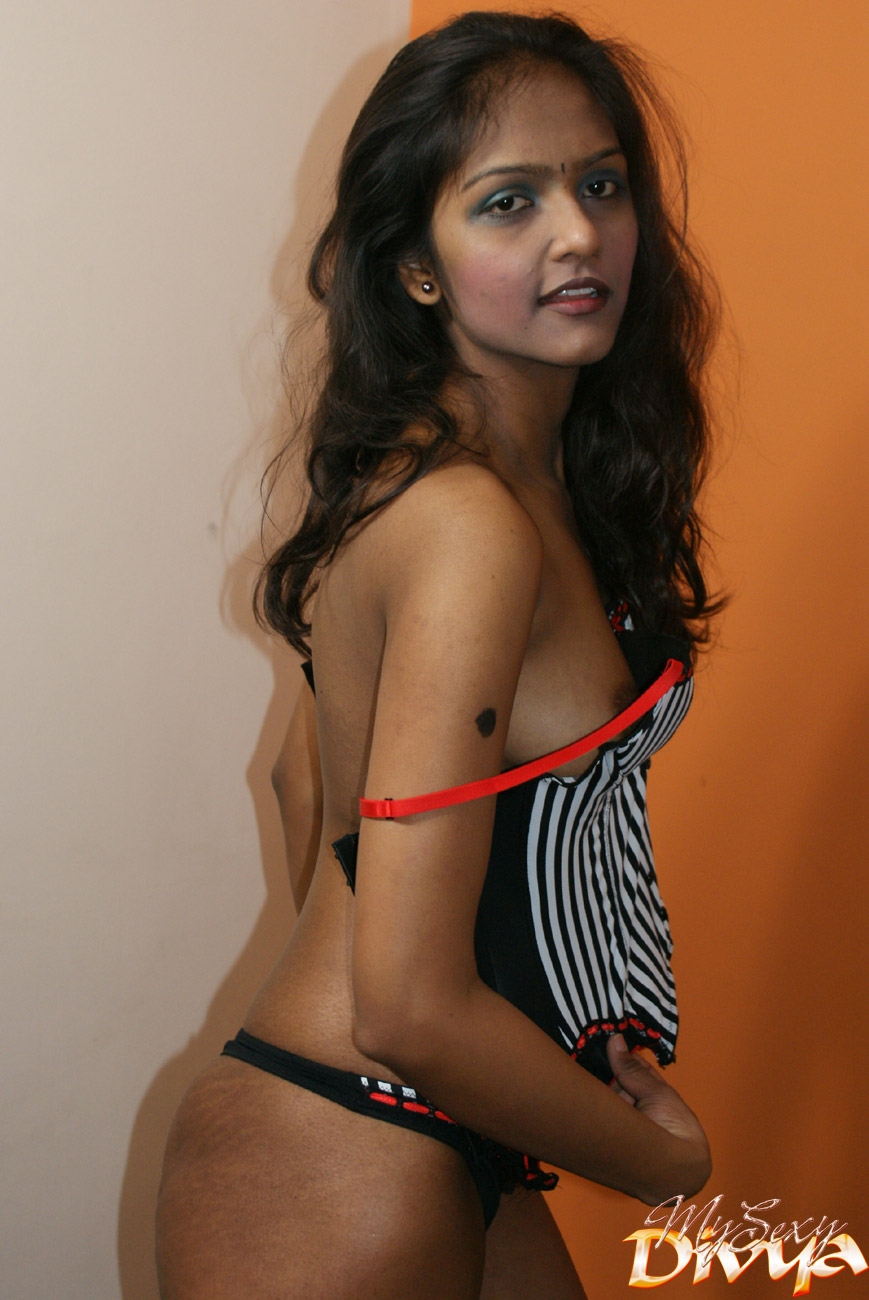 Naked indian girl stripping