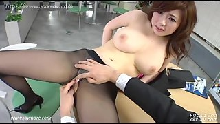 Big Titty Babe Sucks Dick After Pussy Exposure At Work